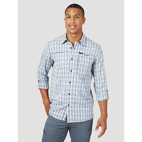 ATG™ by Wrangler® Men's Hike To Fish Plaid Shirt