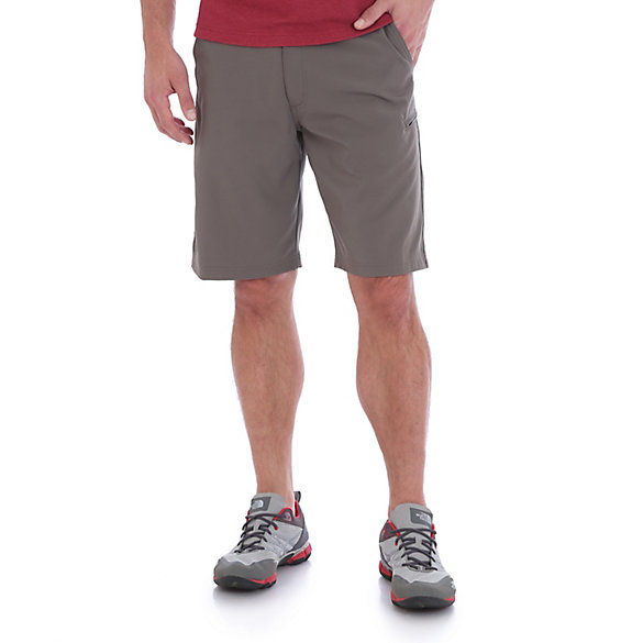 11e712b476 Men's Zip Cargo Shorts with Side Elastic and 4-Way Flex | Mens ...
