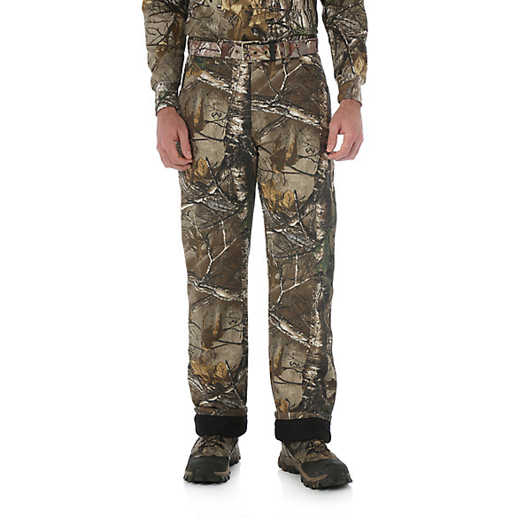 Wrangler ProGear® REALTREE XTRA® Black Thermal Lined Camo Jean
