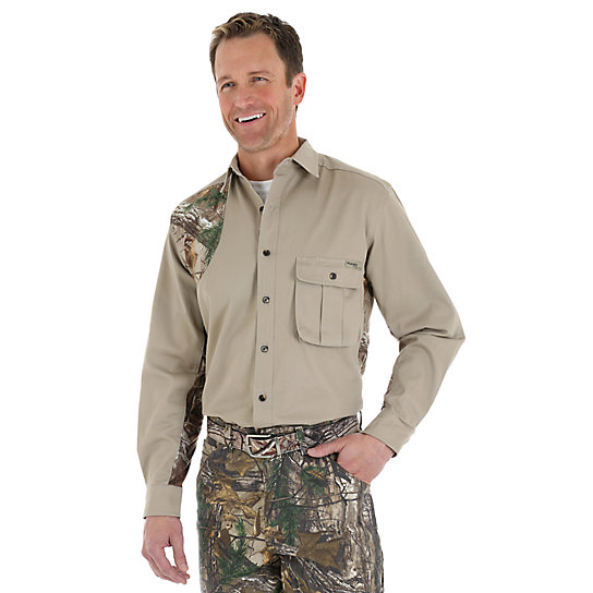 Wrangler ProGear® Realtree Xtra™ Twill Shooter Shirt (Tall Sizes)