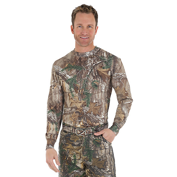 Wrangler ProGear® Realtree Xtra™ Long Sleeve Camo Pocket Tee