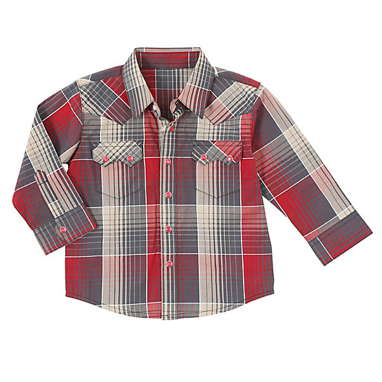 Baby Boy Long Sleeve Western Shirt