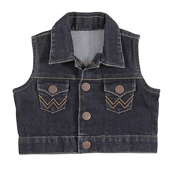 Baby Girl Denim Vest