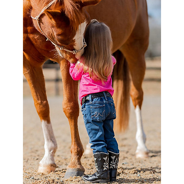 Baby Girl Western 5 Pocket Jean