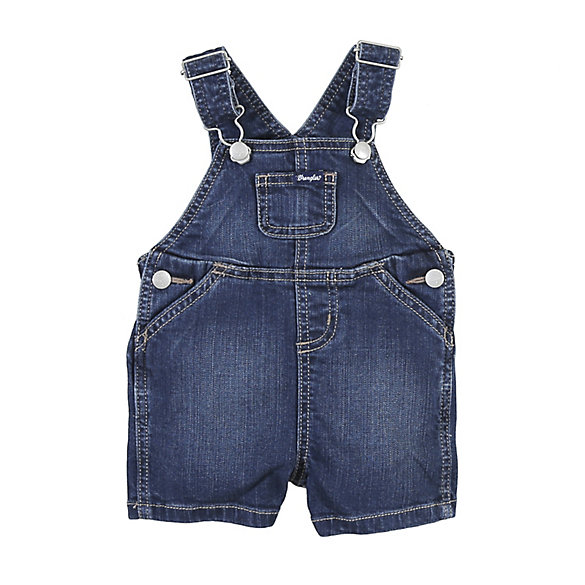 Toddler Boy Shortall with Front Bib Pocket