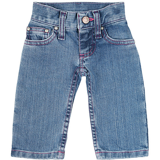 All Around Baby™ by  Girls' Western Jean - Baby Blue