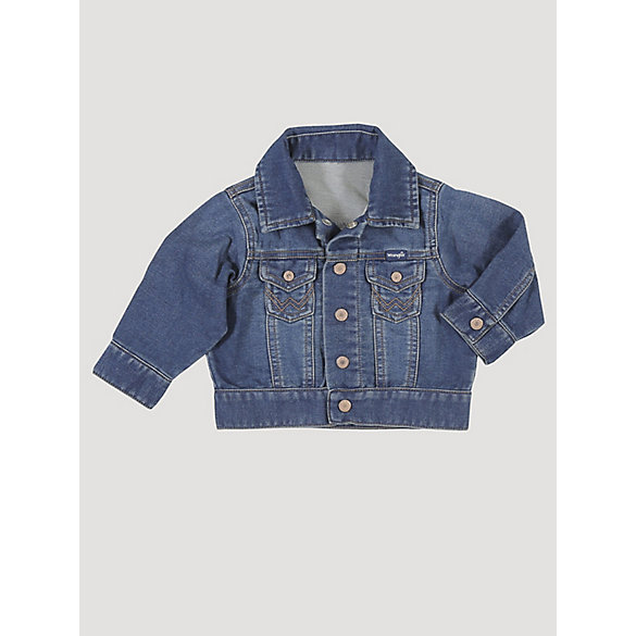 Baby Boy Long Sleeve Classic Denim Jacket
