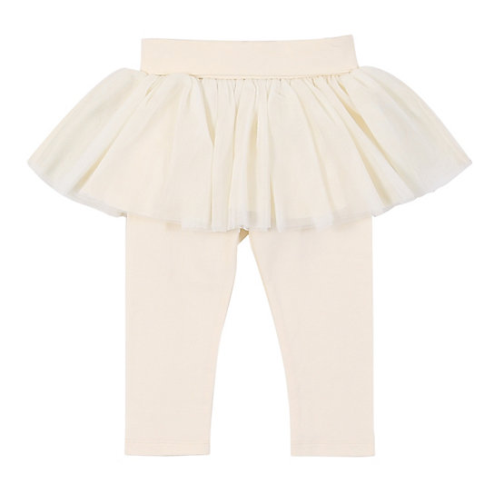Baby Girl Legging with Tulle Skirt