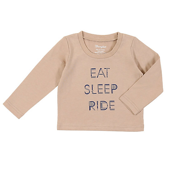 Baby Boy Long Sleeve Graphic T-Shirt