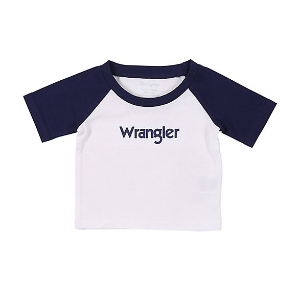 Baby Boy Short Sleeve Logo T-Shirt