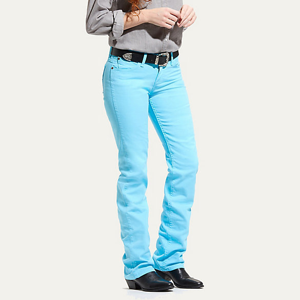 Women's Dyed Rodeo Riding Jean