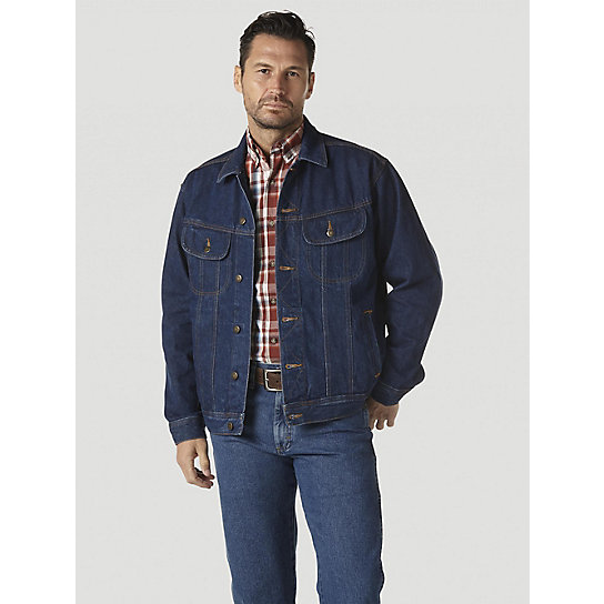 Wrangler Rugged Wear® Denim Jacket (Big & Tall) | Mens Jackets by ...
