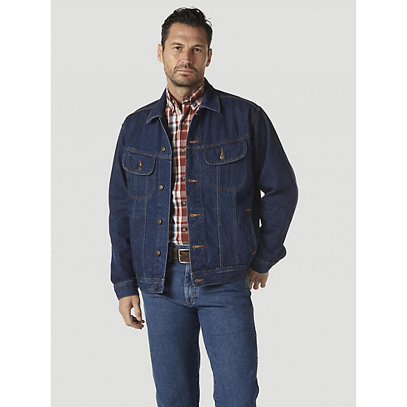 Wrangler Rugged Wear® Denim Jacket (Big & Tall) | Mens Jackets and ...
