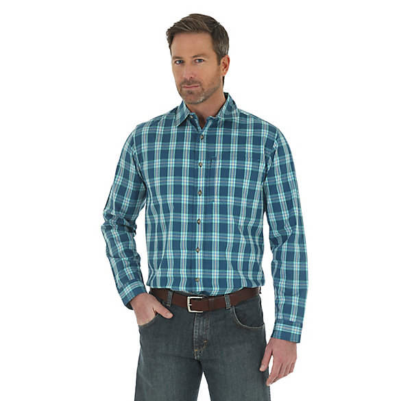 Men 39 S Wrangler Rugged Wear Performance Wicking Long