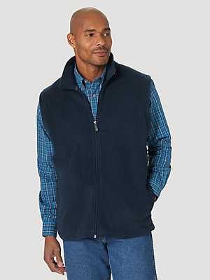 Wrangler Rugged Wear® Fleece Zip Vest