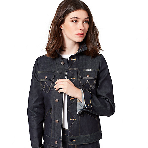 Women's Heritage Selvedge Denim Jacket