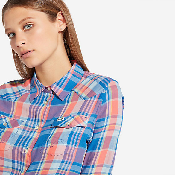 Women's Western Check Shirt