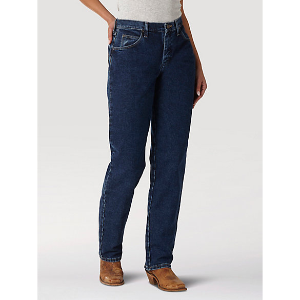 100% Cotton Jeans for Women | Wrangler® Blues Relaxed Fit Jean