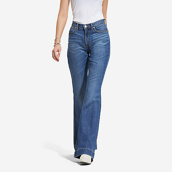 Women's High Rise Flare Jean