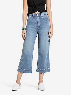 Women's Wide Leg Crop Jean