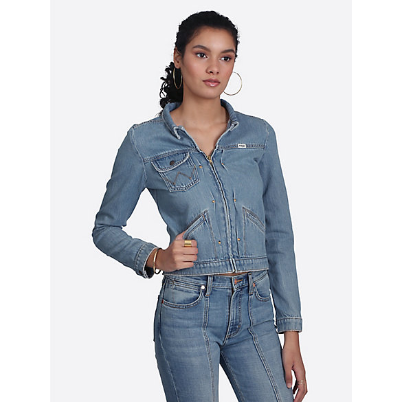 4ee8789599ea9 Women's Heritage Zip Denim Jacket