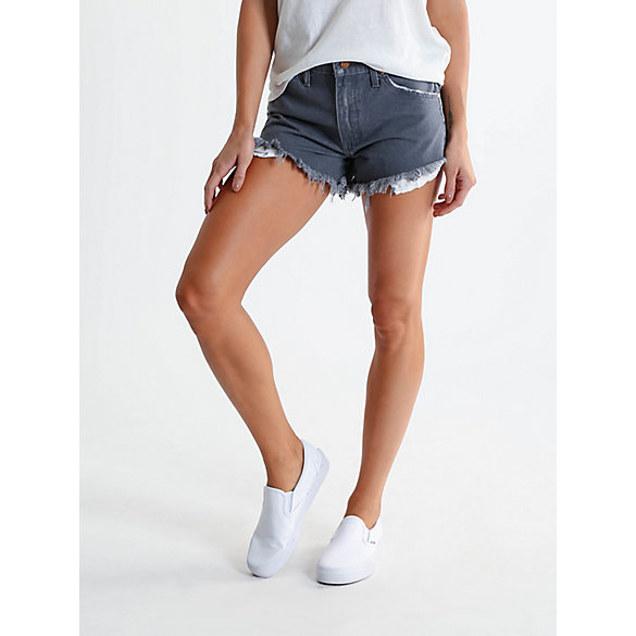 Women's Reworked Cut-Off Denim Short