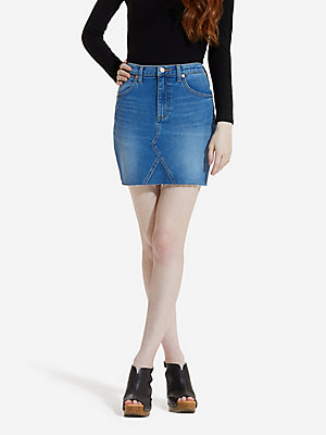 Women's High Rise Mini Skirt