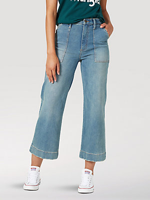 Women's High Rise Utility Crop Jean