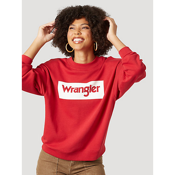 Women's Box Logo Sweatshirt