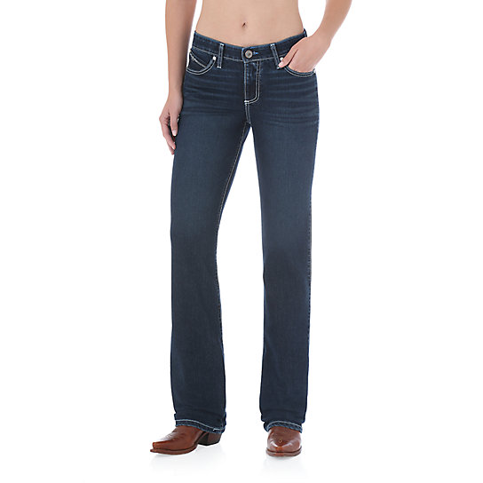Wrangler®  Ultimate Riding Jean Cool Vantage - Q-Baby