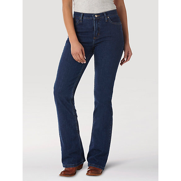 As Real As Wrangler® Misses Classic Fit Bootcut Jean
