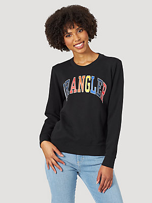 Women's Rainbow Logo Sweatshirt