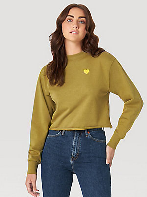 Fred Segal Loves Wrangler Fleece Top