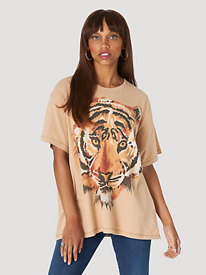 Women's Oversized Tiger Tee