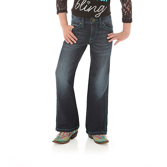 Girl's Rock 47 by Wrangler Fashion Jean (4-14)