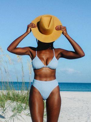 Billabong x Wrangler® Women's Down With Denim Underwire Bikini Top