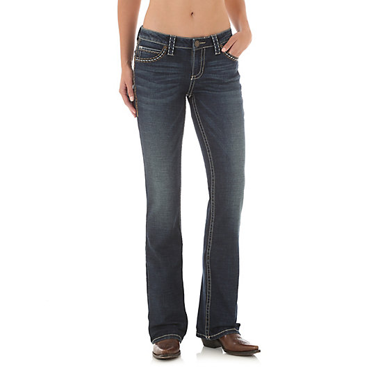 Rock 47® by Wrangler® Mid Rise Bootcut Jean