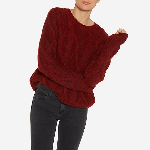 Women's Wrangler® Born Ready Heavy Cable Knit Sweater   Womens ...