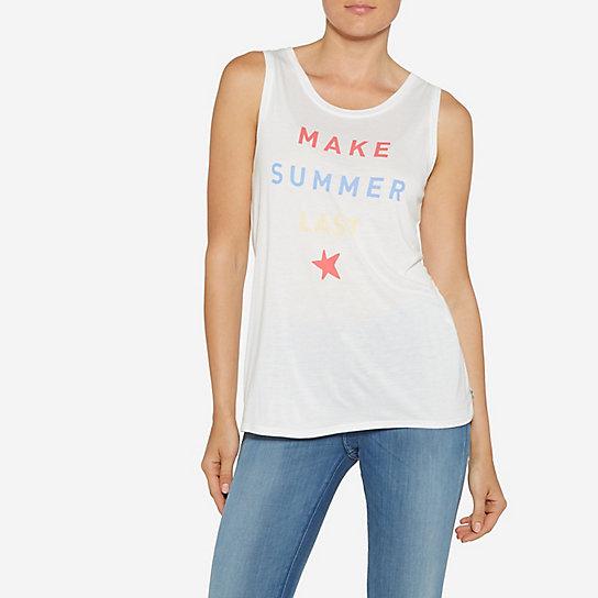 Women's Born Ready Scoop Neck 'Make Summer' Print Tee