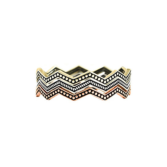 3 Piece Chevron Bracelet Set