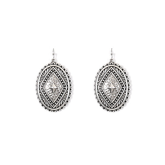 Antique Silver Earrings