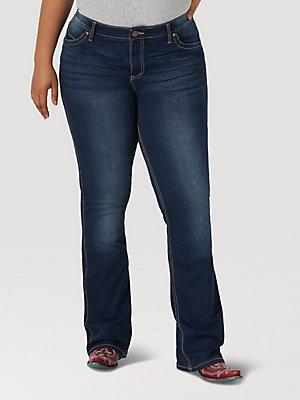 Wrangler® Ultimate Riding Jean - Q-Baby (Plus)