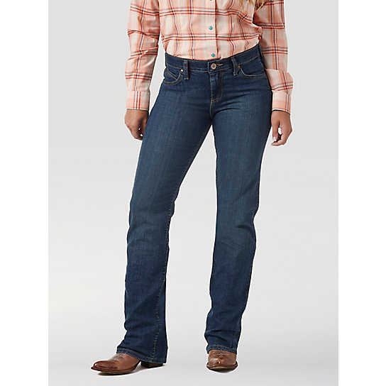 Women S Wrangler 174 Ultimate Riding Jean Q Baby Womens