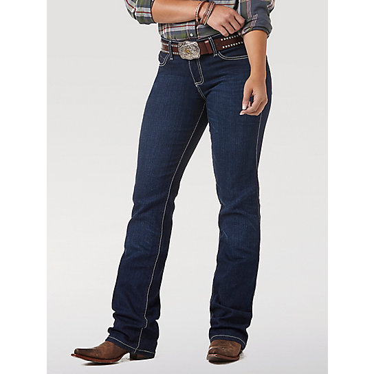 Wrangler® Cowgirl Cut® Ultimate Riding Jean - Q-Baby with Booty Up™ Technology