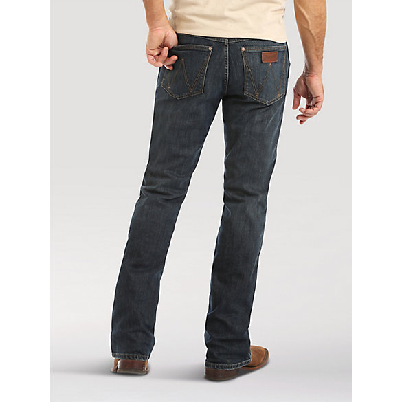 d77a1babfb6 Men's Wrangler Retro® Relaxed Fit Bootcut Jean | Mens Jeans by Wrangler®