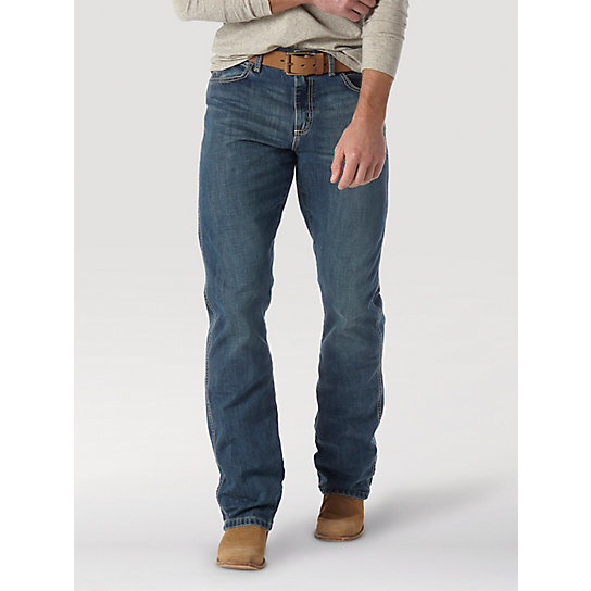 Wrangler Retro® Relaxed Fit Boot Cut Jean | Mens Jeans by Wrangler®