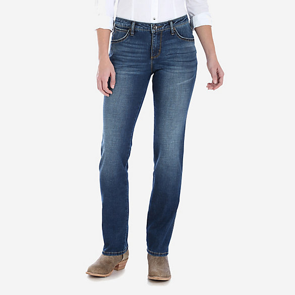 Aura From The Women At Wrangler® Instantly Slimming™ Jean - Straight Leg