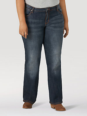 Aura from the Women at Wrangler® Instantly Slimming™ Jean (Plus)