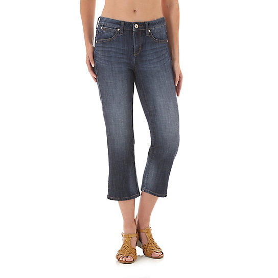 Aura from the Women at Wrangler® Instantly Slimming Capri
