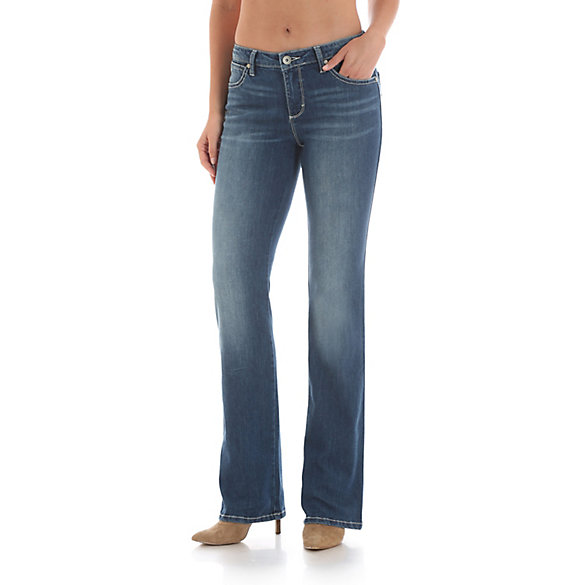 Aura from the Women at Wrangler® Instantly Slimming™ Jean